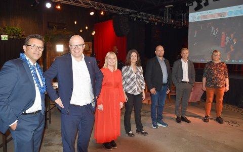 Mørebenken: Frank Sve (Frp), Per Vidar Kjølmoen (Ap), Åse Kristin Ask Bakke (Ap), Jenny Klinge (Sp), Geir Inge Lien (Sp), Helge Orten (H) og Birgit Oline Kjerstad (SV). Sylvi Listhaug er også en del av Mørebenken, men hun var ikke til stede.