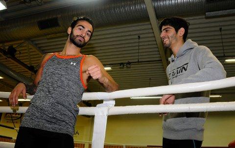 LSO FRA SEG: Ali (til venstre) og Hadi Srour var begge i aksjon i helgen.