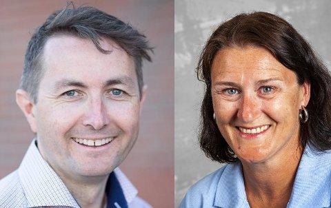 ARTIKKELFORFATTERE: Anders S. Larsen og Lise Mandal
