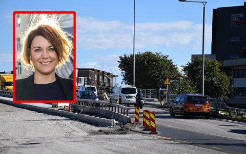 – IKKE SKRU PÅ FOR FULLT: Elbil-sjef Christina Bu vil ha null eller kvart takst på elbiler gjennom bommen, for å stimulere salget.