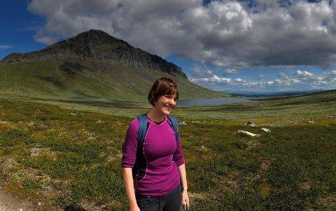 Valdres-kjær: Mari Skeie Ljones har slektsrøtter i Vang og er ofte på hytta ved Helin for å finne ro til musikalske prosjekt, som da hun jobba med melodier til den nyeste Spring du fela-utgivelsen.