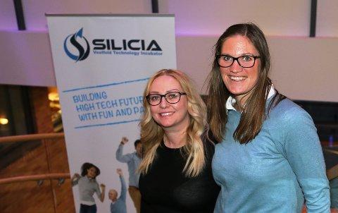"""FROKOSTMØTE: Trine Landøy (til venstre) og Marianne Svinsholt Smith ved Silicia på Bakkenteigen inviterer til frokostmøtet """"Fra idé til arbeidsplass"""" 25. januar."""