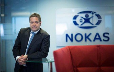 STOR OPPMERKSOMHET: - Suksesshistorien om Nokas høsterstor oppmerksomhet, sier konsernsjef Heine Wang, som selv har fortid som president i NHO.