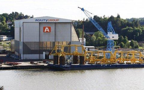VEERDENSLEDENDE: - Agility er en verdensledende produsent av offshore undervannsmoduler, sier adm.dir. Tove N. Ljungquist.