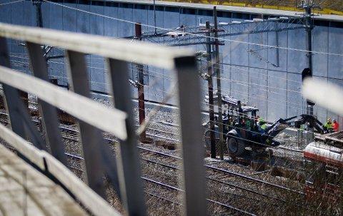 KAN BLI FORSINKET IGJEN: Åpningen av Follobanen kan bli forsinket fra 2022 til 2023.