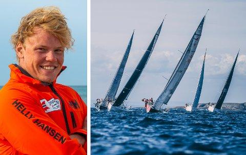 NORGESMESTER: Tomas Mathisen og bergensbåten «White Shadow» vant gull i ORCi-NM søndag.