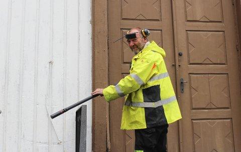 Kjell Halvard Østerholt fikk innvilget 35.000 kroner fra kommunen til sitt enkeltmannsforetak.