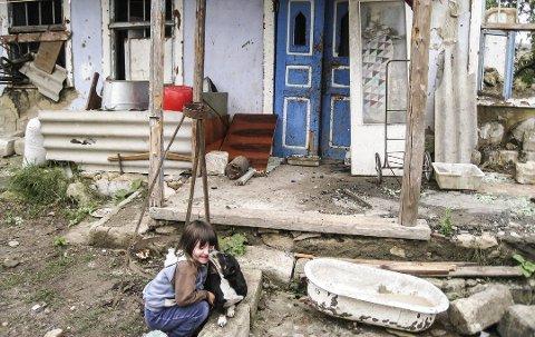 Dette er en helt vanlig landsby i Moldova.