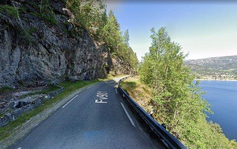 RASFARE: I nærheten av dette området gikk det et steinras onsdag kveld.