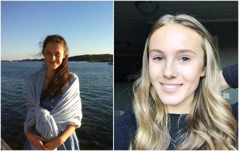 Linda Buanes (t.v) og Malin Henriksen er begge med å planleggje russetida 2021.