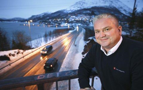 NY E6 i Sørfold: Statssekretær Tom Cato Karlsen (FrP) er fortsatt optimistisk med tanke på oppstart på en ny E6-trase. Foto: Tom Melby