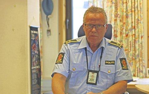 Jostein Kroken i politiet i Narvik etterforsker saken.