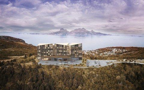 Hotell på Rønvikfjellet. Foto: Nordic – Office of Architecture