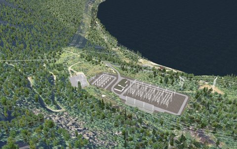 På Lemmen i Sørfold skal Consto oppføre ny transformatorstasjon.