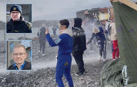 Russen feiret forsinket på Langstranda i Bodø. Nå kommer politiet, ved Henrik Brørs, og smittevernoverlege Kai Brynjar Hagen med klar melding tilbake.