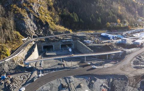 Problemene startet da Veidekke skulle bygge den ni kilometer lange Lyshorntunnelen. Selskapet mener at Statens vegvesen har forutsatt et uforsvarlig byggetempo, som har kostet dem dyrt.