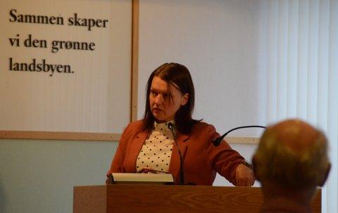 Prosjektledelse: Jorunn Bogevik er teknisk sjef i Randaberg kommune, og det er hun som alltid orienterer i formannskapet om status i pågående byggeprosjekter.