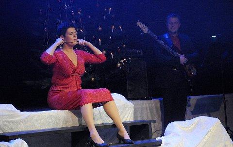 SYK: I år har Aase Kristin Andreassen meldt forfall til showet på grunn av sykdom. Her er hun i aksjon under juleshowet i 2015.