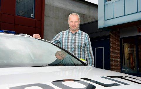 BEKYMRET: Hovedtillitsmann i Nordre Buskerud politidistrikt, Ole Haraldseth.