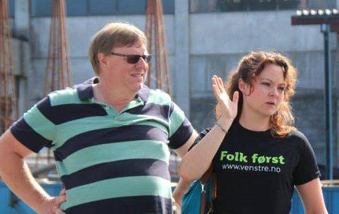 TRONSKIFTE: Erik Hørluck Berg tar over lederansvaret etter Rebekka Borsch.