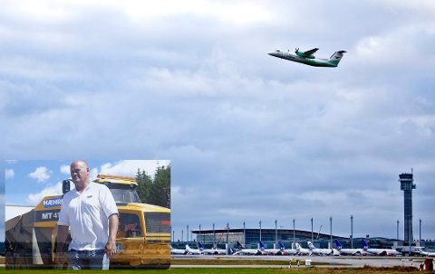 NY FLYPLASS: Hæhre Entreprenør skal bygge ny flyplass i Mo i Rana, som underleverandør for Peab.