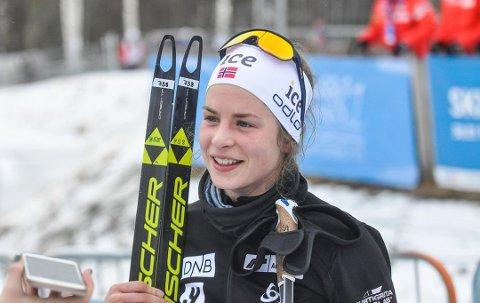 FÅR DEBUT? Ida Lien ligger an til å få sin verdenscup-debut i Tsjekkiske Nove Mesto til helgen.