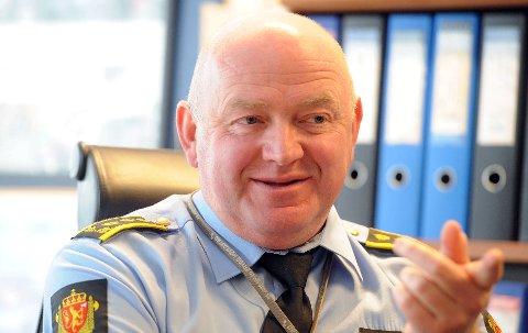 I DAG: Det er slik vi har blitt vant til å se Johan Fredriksen, som stabssjef ved Oslo politikammer.Arkivfoto