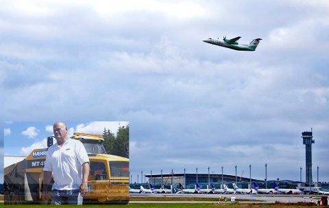 MILLIARDJOBB: Kontrakten for å bygge den nye flyplassen ved Mo i Rana var på 1,7 milliarder kroner. Nå lyses den ut på nytt.