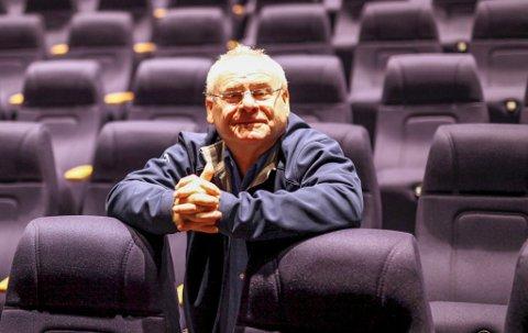 SNURR FILM: – 15. mai opnar vi kinoen igjen, og det skal bli kjekt, seier kinosjef Ingvar Hopland i Florø.