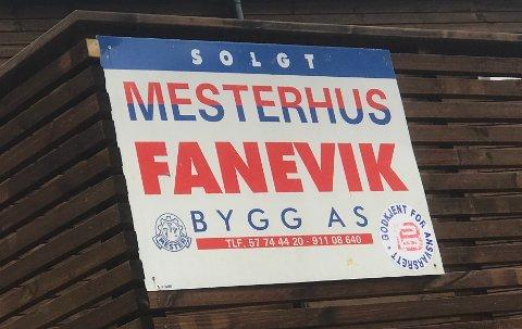 GODE TAL: Fanevik bygg, Fanevik tomteutvikling og Fanevik holding kan samla vise til gode tal for 2019.