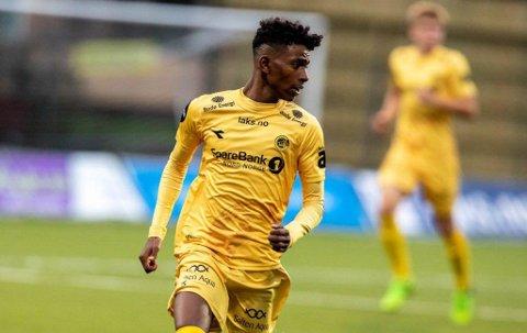 TALENT: 18 år gamle Adan Hussein er den nyaste spelaren til Florø Fotball.
