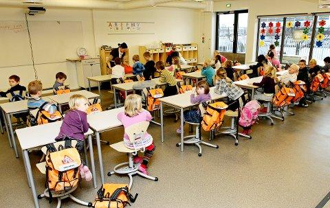 Ny start: Det er mye å sette seg inn i for elevene, men også for foreldre med barn som er ferske på barneskolen, ungdomsskolen eller videregående.  arkivfoto: kjell kristian sikkeland