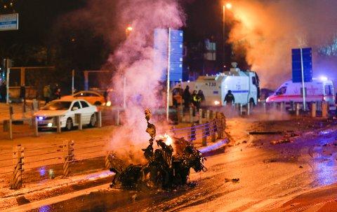 Sentrum av Istanbul. (REUTERS/Murad Sezer)