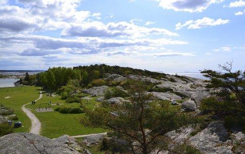 Paradis: Mærrapanna, her tidlig på sommeren, er en populært sted å besøke for barnefamilier.