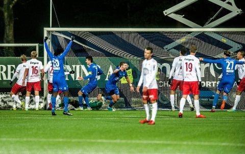 NEDTUREN: FFK rykket ned etter en miserabel innsats på Notodden. Foto: Geir A. Carlsson
