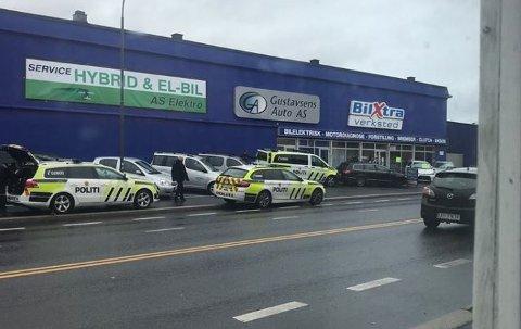 Flere politipatruljer rykket ut etter meldinger om en ruset sjåfør i Borggata.