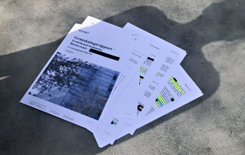Millionbeløp: Advokatfirmaet Hjort har sendt regning på 1,1 million kroner for granskningsrapporten. Barnevernet må betale.