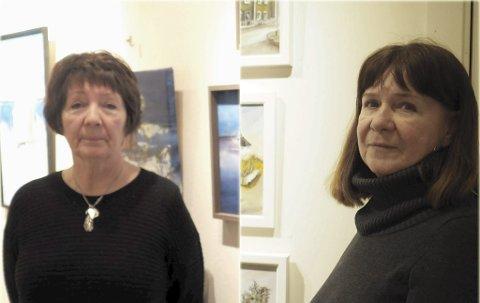 Har utstilling: Vera Steine og Rita Johansen har utstilling sammen på Galleri My hele neste uke. Åpner lørdag.FOTO: Frida Brembo
