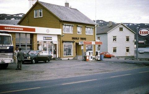 BJERKVIK: Dette bildet er tatt rundt 1980, og er et av bildene som er digitalisert.