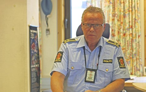 OMFATTENDE: Jostein Kroken i politiet i Narvik etterforsker saken. Arkivfoto: Odd-Georg H. Benjaminsen.