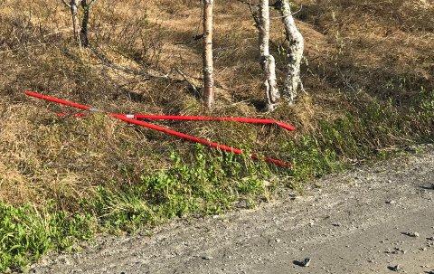 En rekke brøytestikker ble gjenglemt da kommunens folk samlet dem inn. Nå kreves de fjernet.