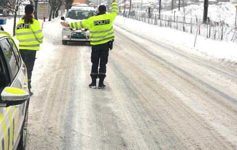 DAGEN DERPÅ: Kjøreturen en søndags morgen ble svært kostbar for en bilist.