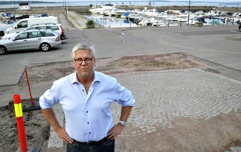 POLITIKER: Carl-Otto Kielland vil bli politiker i den nye regionen Vestfold og Telemark. Han er foreslått på  lista til Venstre.