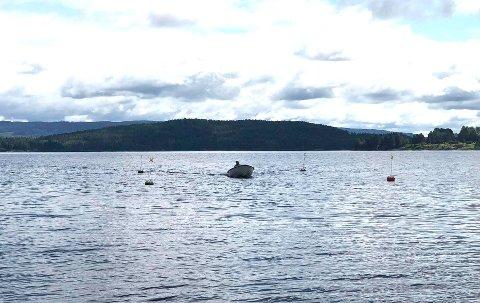 TRYGT: Bedre og mer samordnet merking skal gjøre det tryggere å ferdes med båt på Storsjøen.