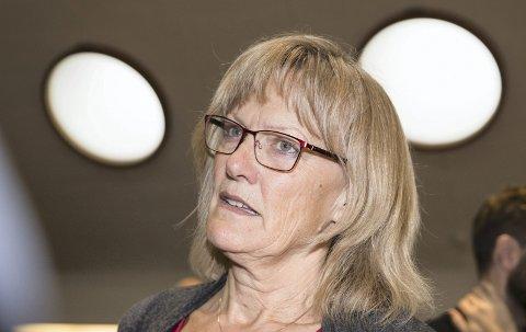 FORNØYD: Stortingsrepresentant Karin Andersen (SV) har engasjert seg i saken til «Karl» og nærmeste familie, som ble fratatt pårørende-statusen etter å ha havnet i konflikt med Kongsvinger kommune.