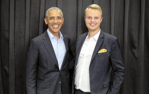 I 2018 jobbet Andreas Kustås med den tidligere amerikanske presidenten Barack Obama under Oslo Business Forums næringslivskonferanse. I år står flere store navn for tur.