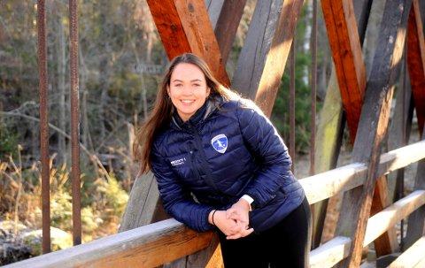 23-åringen Ida Haugstad Stake fra Lillehammer er den yngste i styret i nye Innlandet idrettskrets.