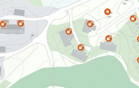 Flere eiendommer i Svartskardvegen i Fåvang ligger på topplista for Ringebu i sommer.