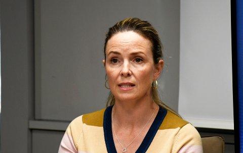 Kommuneoverlege Kathrine Kristoffersen i Tromsø fikk landets første smittetilfelle i fanget.