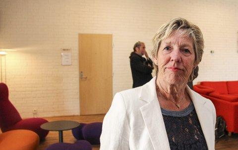 FOrnøyd: Rådmann May-Britt Nordli er fornøyd med at sykefraværet i kommunen har gått ned.Arkivfoto: Atle Nielsen